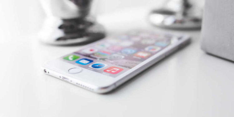 apple iphone technology white